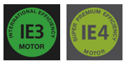 IE3 International Efficiency Motor and IE4 Super Premium Efficiency Motor