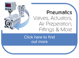 Pneumatics - Valves, Actuators, Air Preperation, Fittings & More