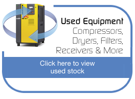 Used Equipment - Compressors, Dryers, Fitters, Receivers & More