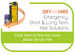 DRY AIR HIRE - Emergency, Dryers, Filters, Receivers & More