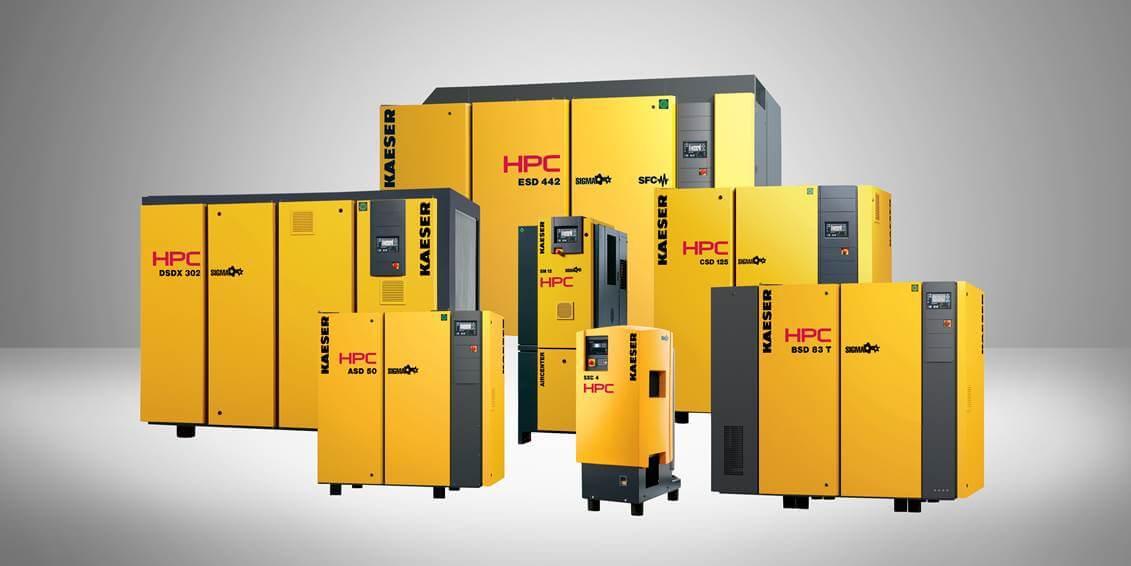 HPC Compressors - 9.2 to 2020 CFM (2.2 – 315kW)