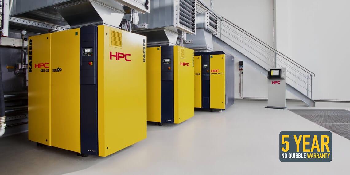 HPC Compressors - Quality. Efficient. Reliable