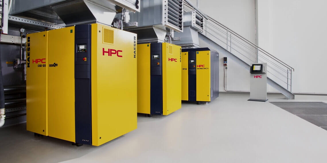 HPC Compressors - Quality. Efficient. Reliable
