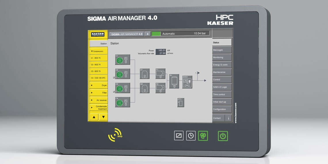 Intelligent Control - Sigma Air Manager 4.0